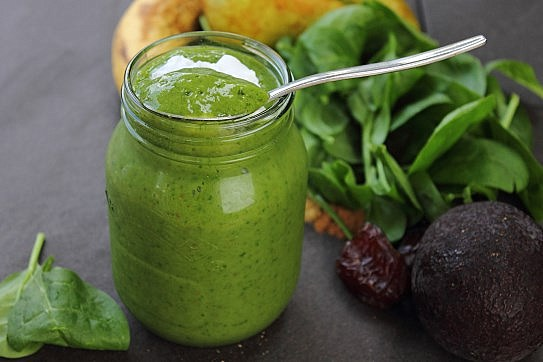 Happy Pear Green Monster Smoothie (2)
