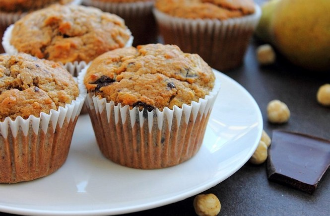 Pear Chocolate Hazelnut Muffins (22)