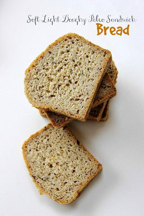 Paleo Sandwich Bread Title
