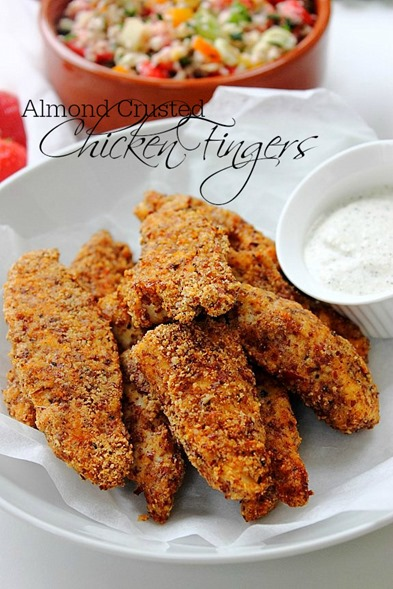 Grain Free Chicken Tenders Title