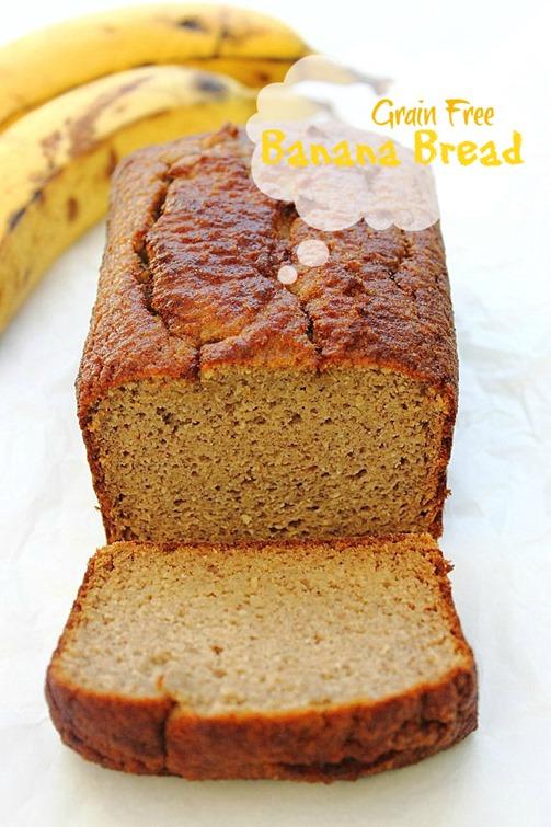 Paleo Banana Bread Title