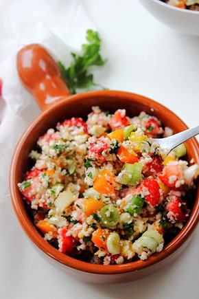 Summer Strawberry Grain Free Tabbouleh (19)