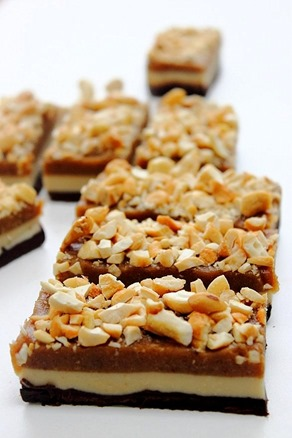 Raw Snickers Layer Bars (10)