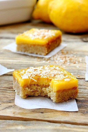Lemon Curd Shortbread Squares (38)
