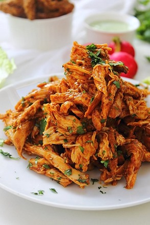 Chipotle Shredded Chicken Lettuce Tacos (24)