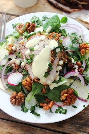 Cold Pork Roast Waldorf Salad (41)