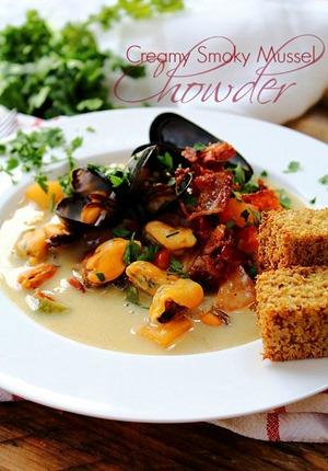 Mussel Pancetta Chowder (16) Title