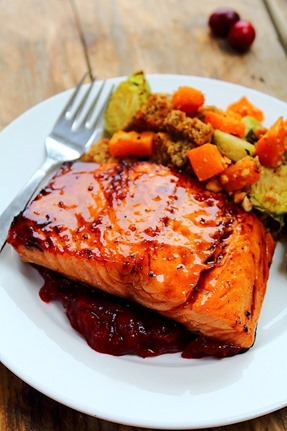 Maple Bourbon Salmon (13)