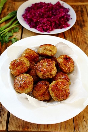 Bombay Turkey Meatballs (8)