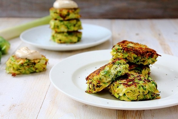 Brussel and Leek Fritters (14)