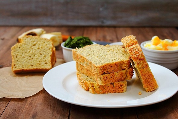 Coconut Flour Sandwich Bread (11)