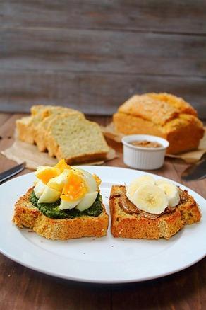 Coconut Flour Sandwich Bread (22)
