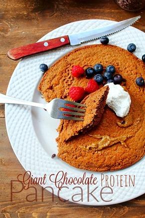 Jumbo Chocolate Protein Pancake (13) title