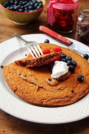 Jumbo Chocolate Protein Pancake (1)