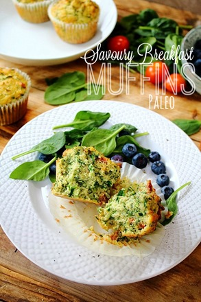 Savoury Breakfast Muffin (15) title