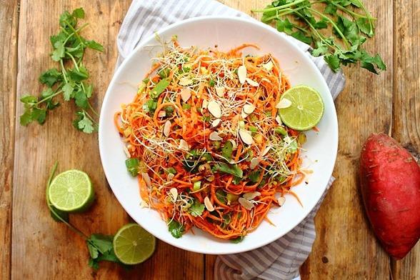 Chipotle Sweet Potato Noodle Salad (1)