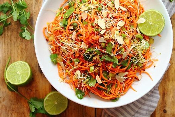 Chipotle Sweet Potato Noodle Salad (2)