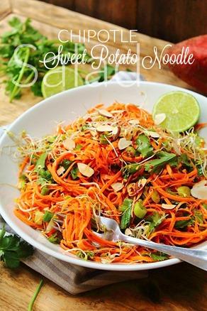 Chipotle Sweet Potato Noodle Salad (8) title