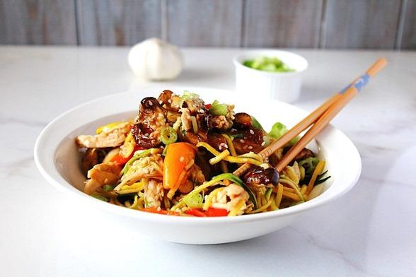 Chicken Chow Mein Paleo (10)