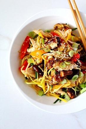 Chicken Chow Mein Paleo (2)