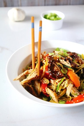 Chicken Chow Mein Paleo (8)