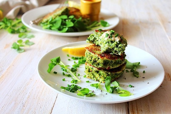 Paleo Broccoli Fritters (6)