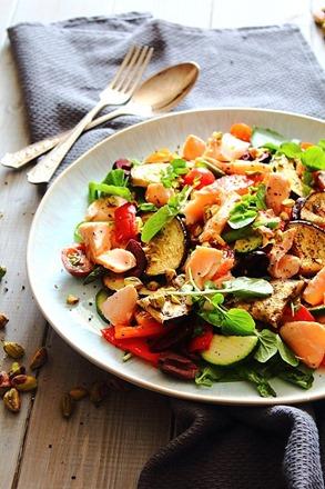 Summer Italian Smoked Salmon Salad (2)