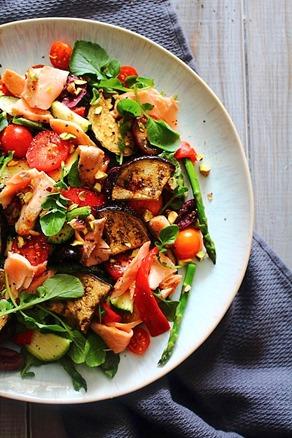 Summer Italian Smoked Salmon Salad (4)