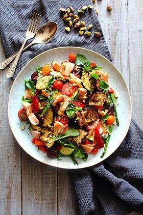 Summer Italian Smoked Salmon Salad (5)