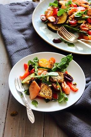Summer Italian Smoked Salmon Salad (7)