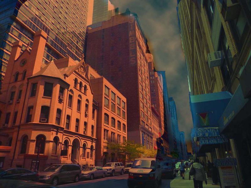 City II by Kyle Hemmings