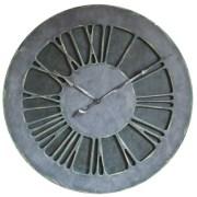 Eccentric Extra Large Unique Wall Clock. Handmade & Hand Painted 100cm diameter