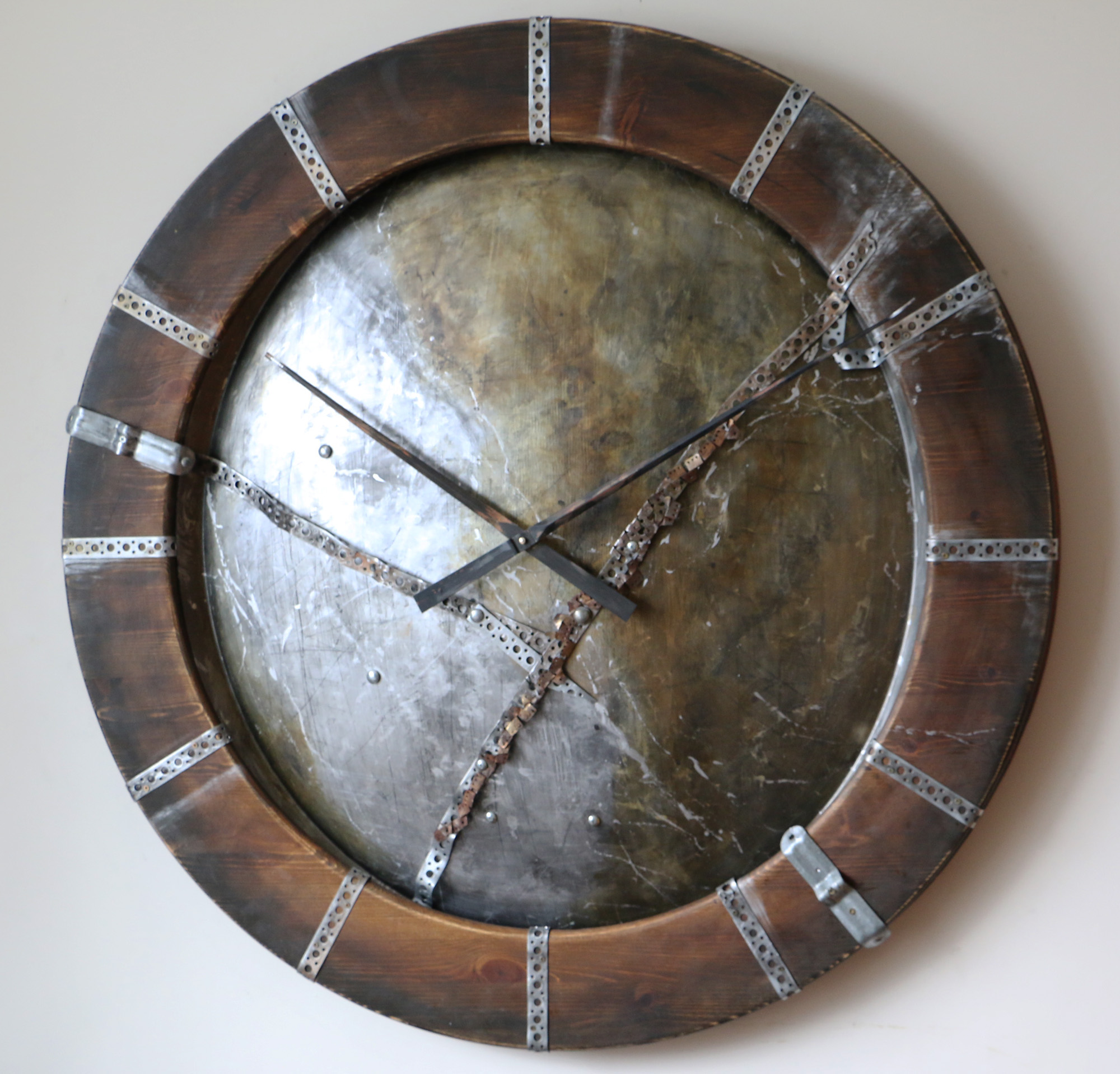 Extra Large Wooden Wall Clock Massive Handmade Wall Clocks New Design Trends