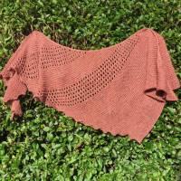 Knitting Pattern - One Skein Shawl - Peak District Yarns