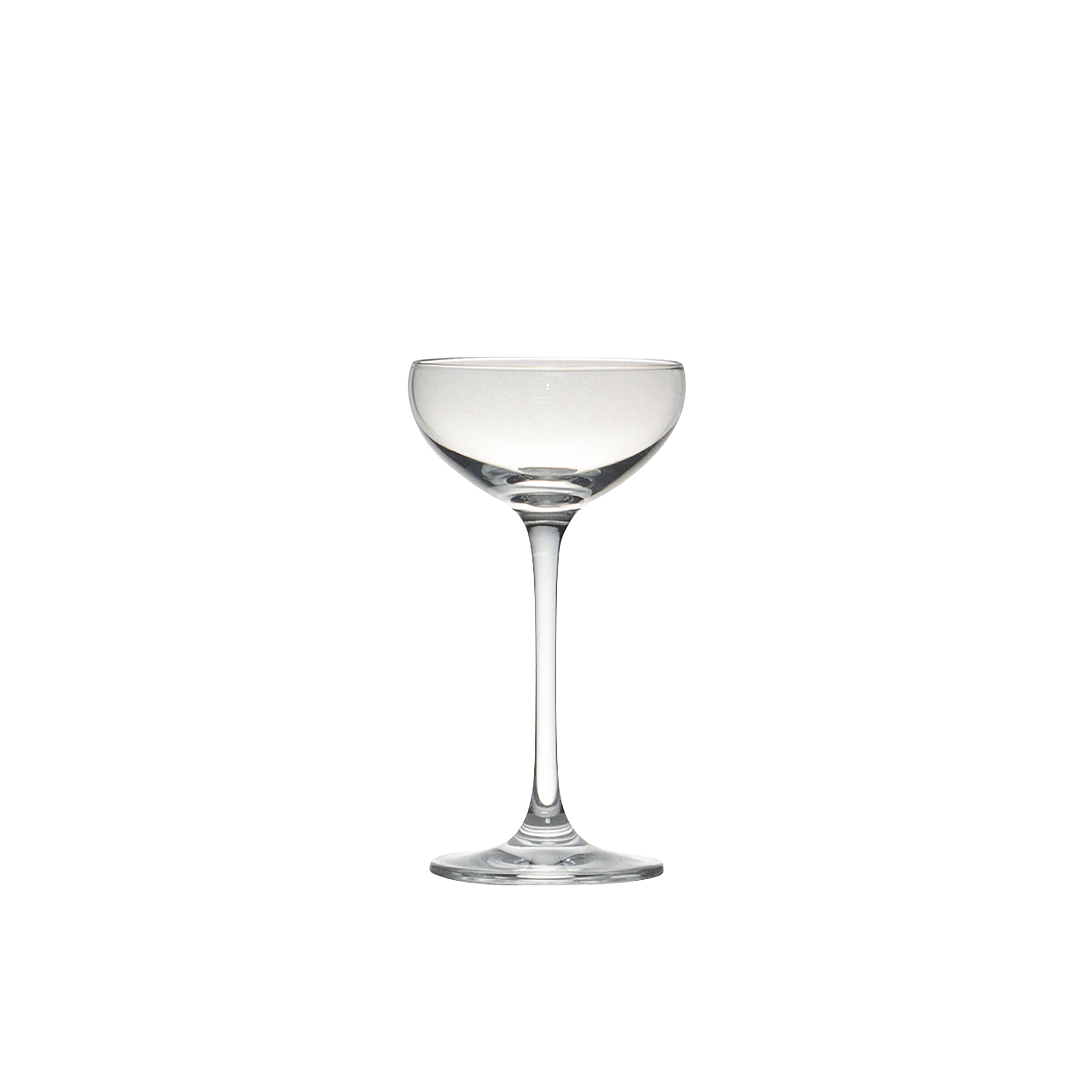 Champagne Coupe 2oz Mini Champagne Coupe Saucer Style 36 Rack Peak Event Services