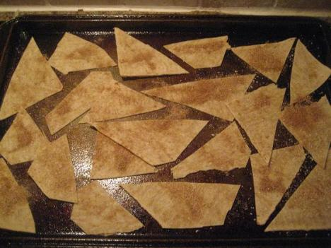 Lavash Chips Pre-Cooked