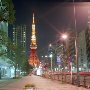 東京タワーまで歩く