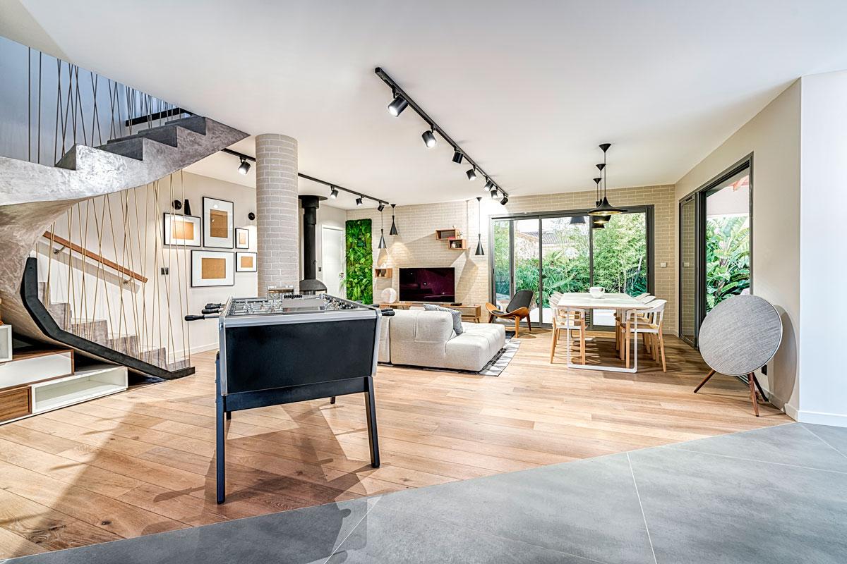 Deco Interieur Maison Salon | Deco Moderne Salon Cheap Idee Deco ...