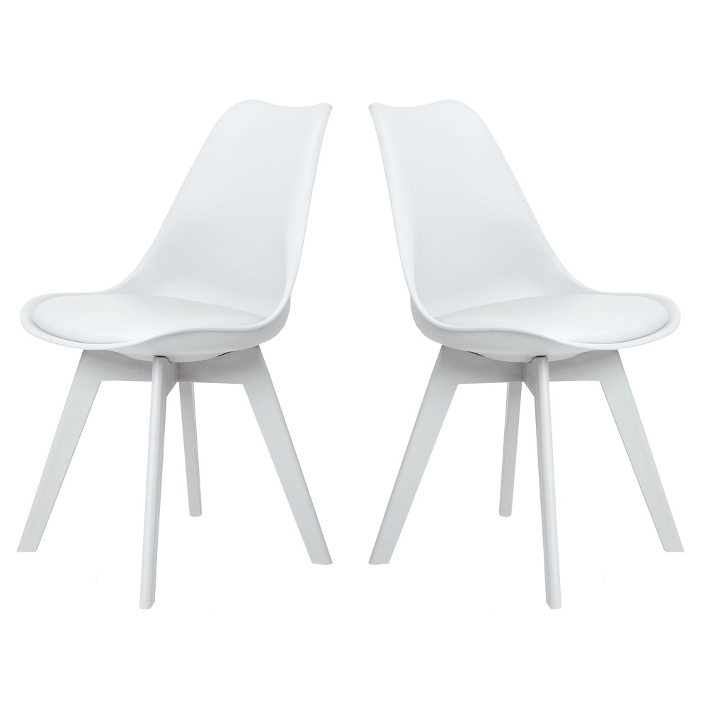 Chaises Blanche Scandinave Chaise Scandinave Pied Blanc Pearlfection Fr