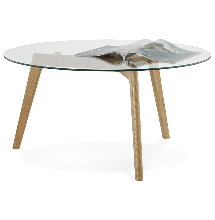 Table En Verre Scandinave Table Ronde Verre Scandinave Pearlfection Fr