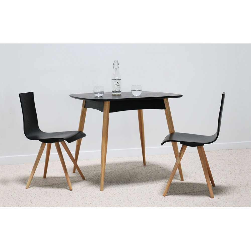 Table Scandinave Noire Chaise Scandinave Noir Et Table Pearlfection Fr