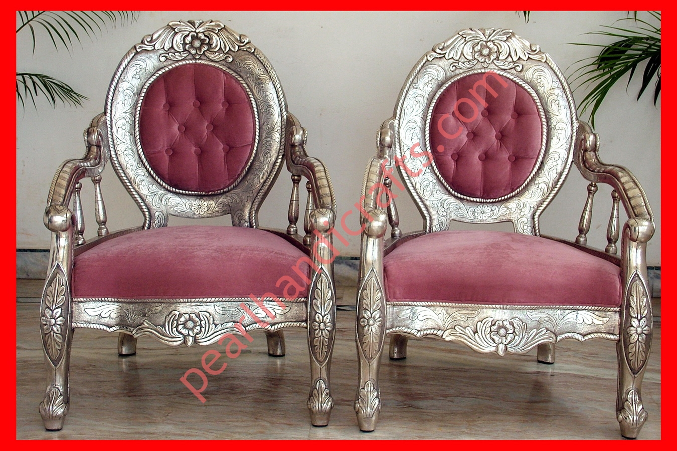 Sofa Set In Metal Silver Sofa Set Carved Wooden For Home Pearl Handicrafts