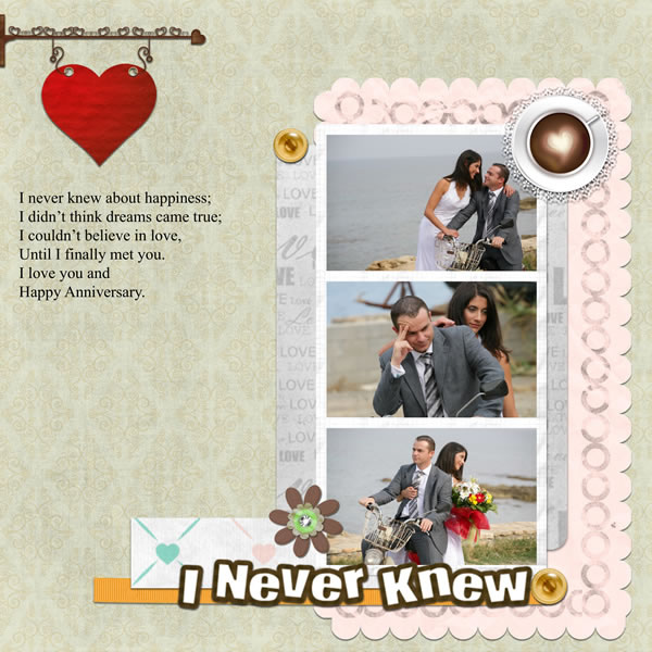 Design Your Own Home Software Free Download Anniversary Scrapbook Templates & Samples - Scrapbook