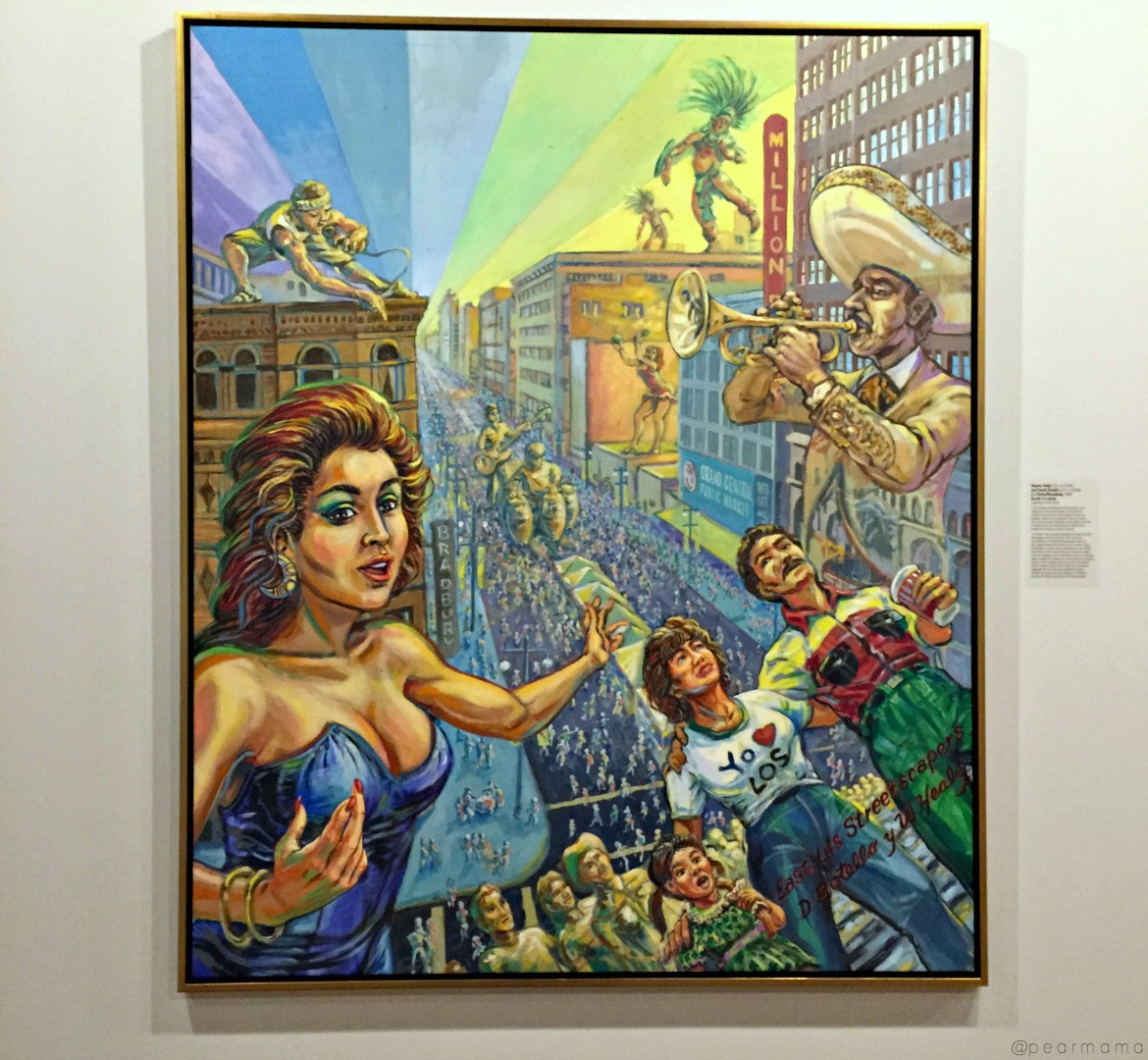 Arte Chicano Murals Chicano Art At The Museum Of Latin American Art Pearmama