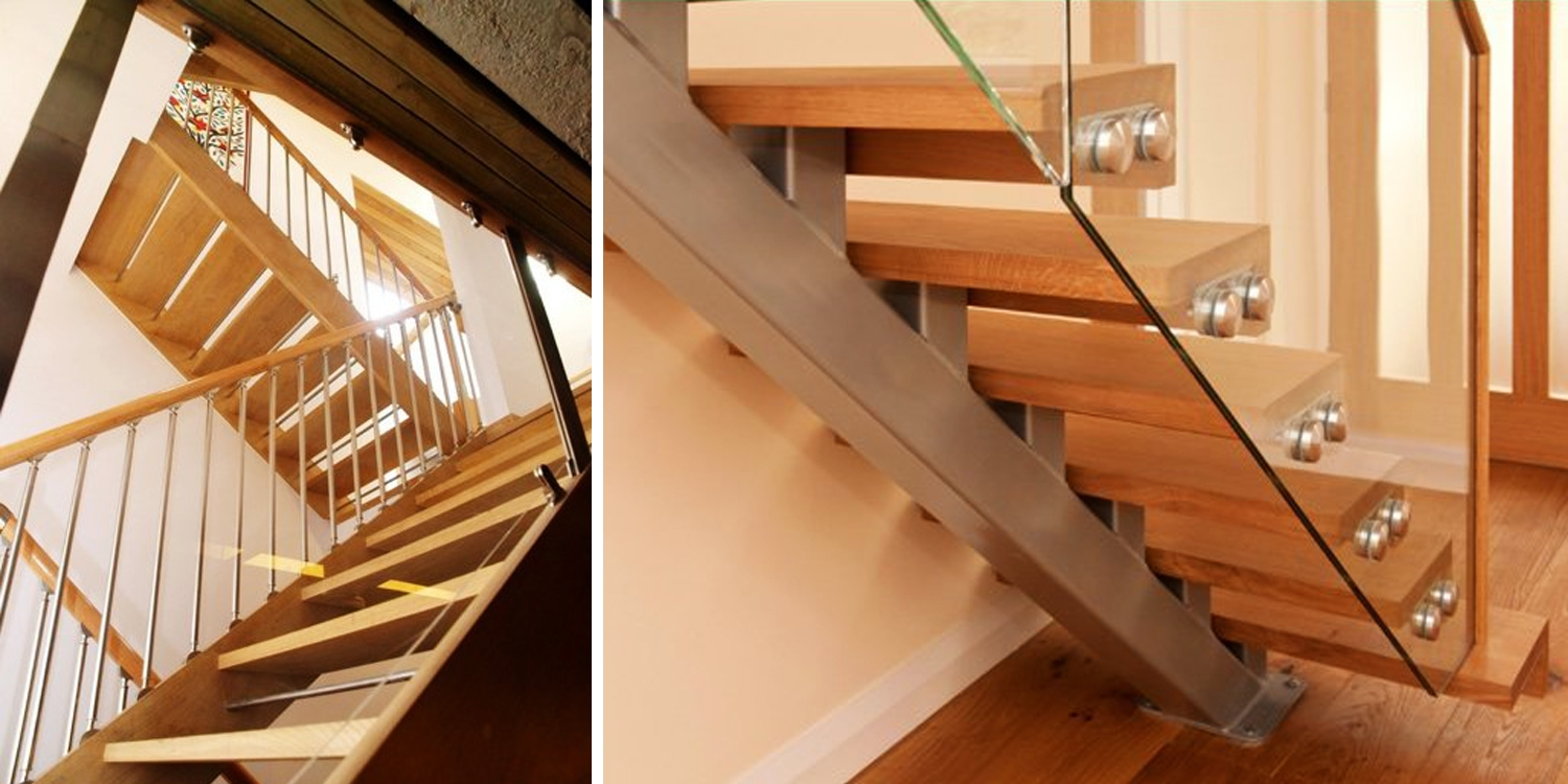Open Staircase Design Staircases Manufacturer Bespoke Wooden Stairs Stair Parts Uk