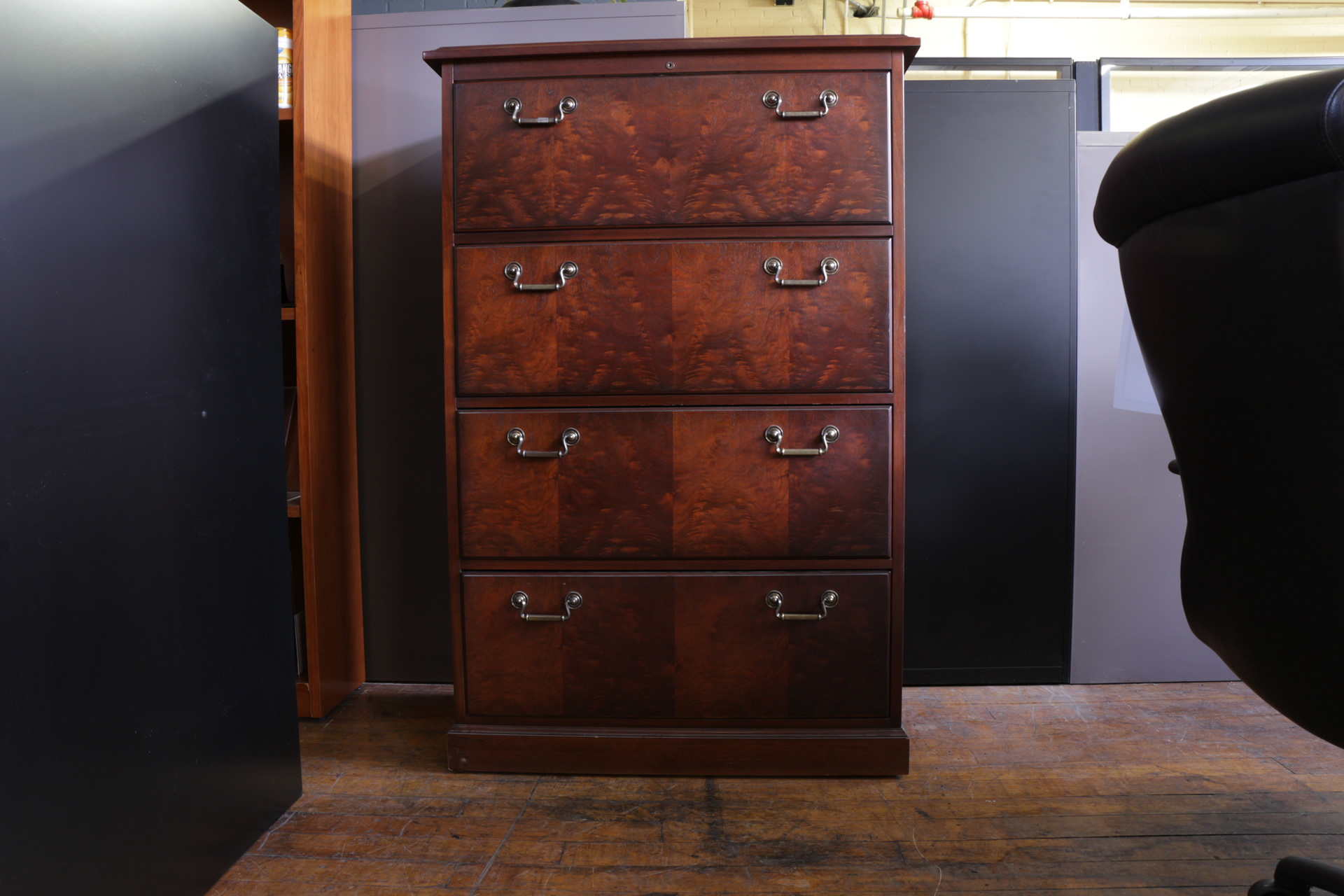 Horizontal File Cabinet Kimball Wood 4 Drawer Lateral File Cabinet Peartree Office Furniture