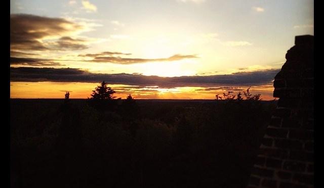 Sunset over Finchampstead