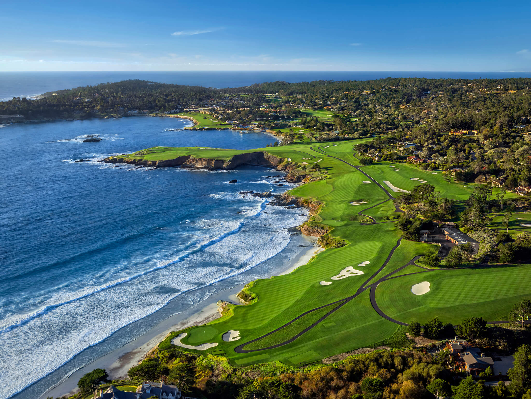 Campo Da Golf Palermo Pebble Beach Resorts Golf Resorts Courses Spa Vacations