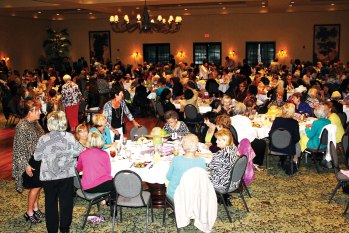 The Tuscany Falls Ballroom was filled to the brim celebrating our Hats Off to Spring Fundraiser.