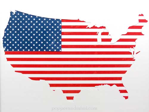 American Flag Home Decor - Pebbles, Inc